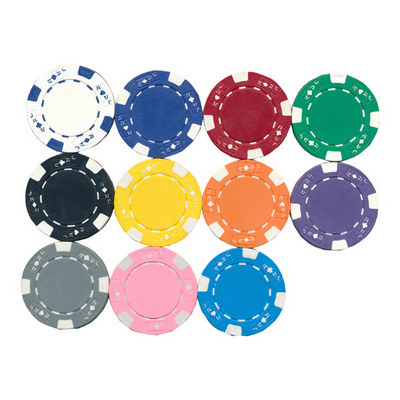 Picture of Plastic Poker Tokens