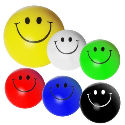 Picture of Smiley Face Stress Shape