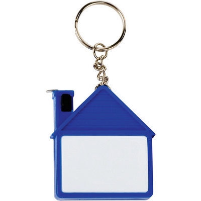 Picture of House Shape Tape Measure Key Chain