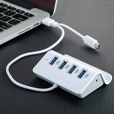 Picture of Media Hub Stand - USB v2.0 (USB, Type-C)