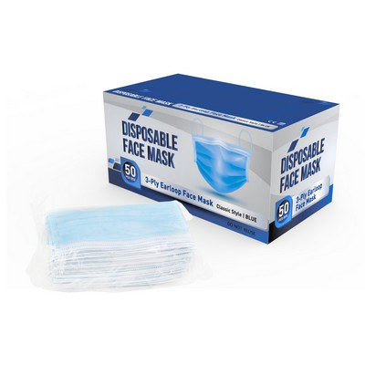 Picture of Personal Disposable Mask - 50PC Box