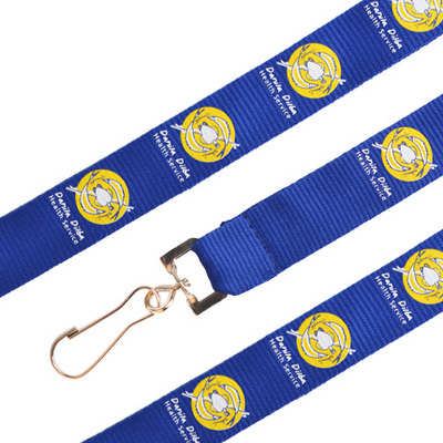 Picture of Poly Ribbed Lanyard