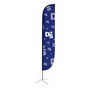 Large(80.5400cm) Convex Feather Banners