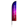 Large(80.5400cm) Straight Feather Banner
