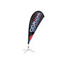 Small(75190cm) Teardrop Banners 9ft
