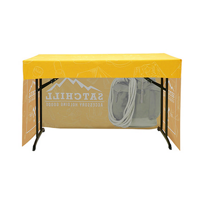 Picture of 3-Side Fitted Table Cloth 4ft