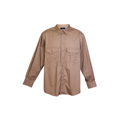 Picture of Cotton Drill Work long Sleeve Shirt
