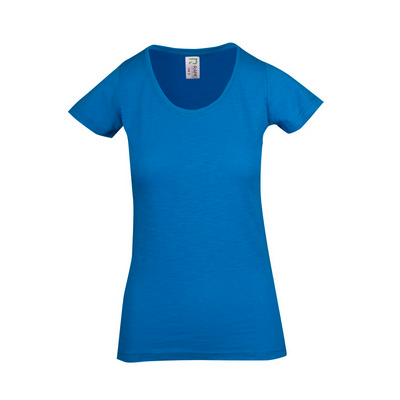 Picture of Ladies Raw Cotton Wave Tees