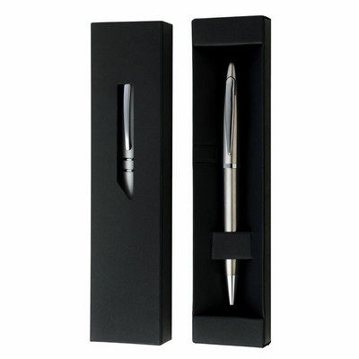 Picture of Black Gift Box w Window