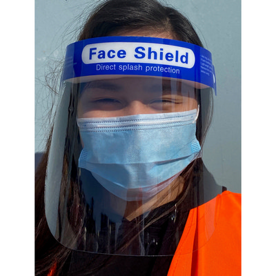 Picture of Full Length Face Shield