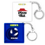 Tape Measure with Level Key Chain