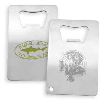 Picture of Stainless Credit Card Bottle Opener