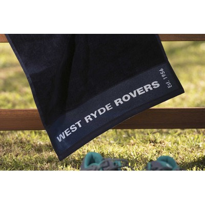 Picture of Colour Plus Printed sports towel edge to
