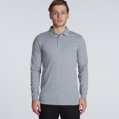 Picture of Chad Long Sleeve Polo