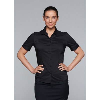 Picture of Ladies Mosman Stretch Short Sleeve Shirt