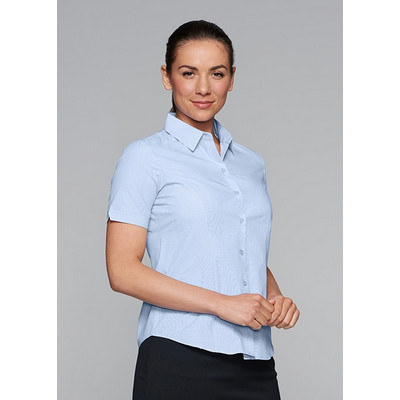 Picture of Ladies Belair MiTong Stripe Short Sleeve