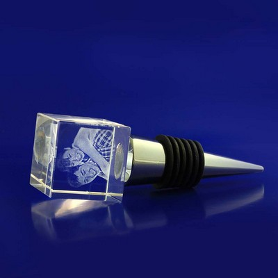 Picture of 3D Crystal Award - Bottle Stop