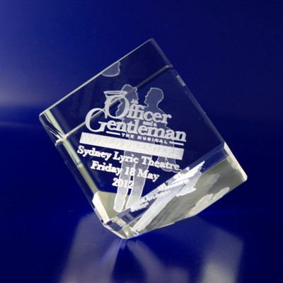 Picture of 3D Crystal Award - Diamond