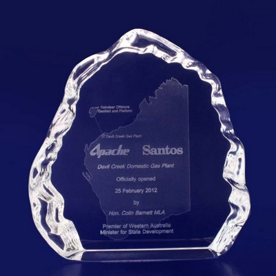 Picture of 3D Crystal Award - Ice Crystal