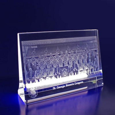 Picture of 3D Crystal Award - 2D Photo Crystal