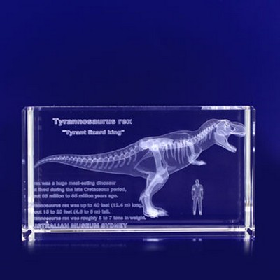 Picture of 3D Crystal Award - Rectangle