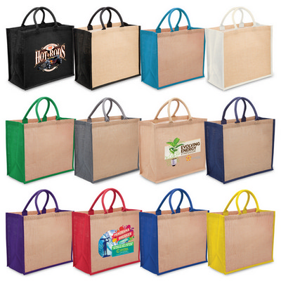Picture of Legend Eco Jute Tote with wide gusset