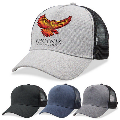 Picture of Legend Heathered Mesh Trucker