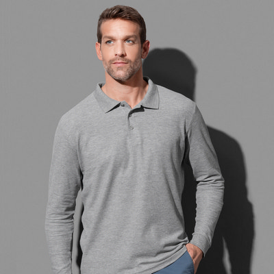 Picture of Stedman Collection Mens Polo Long Sleeve