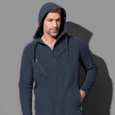 Picture of Stedman Collection Mens Active Hooded Fl