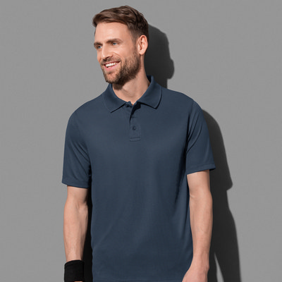 Picture of Stedman Collection Mens Active 140 Polo