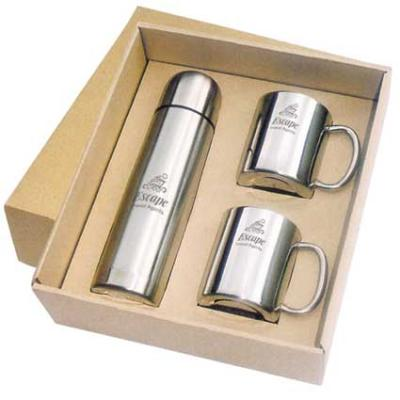 Picture of 2 Mug & 1 Litre Flask Set