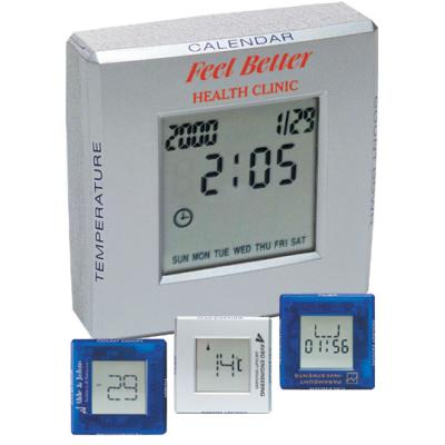 Picture of Rubix Multi-clock Blue or Silver