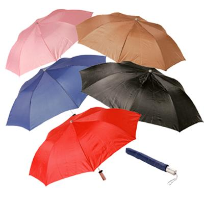 Picture of Pop-up Umbrella - Red, pink and brown