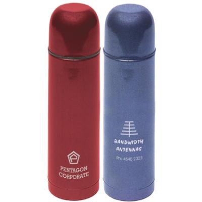 Picture of Riviera 500ml Flask - Red or Blue