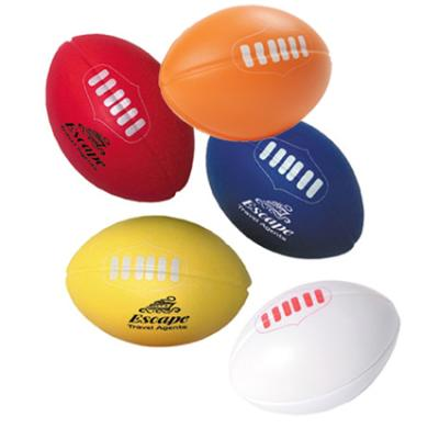 Picture of Stress Aussie Rules Footy Blue, Red, Yel