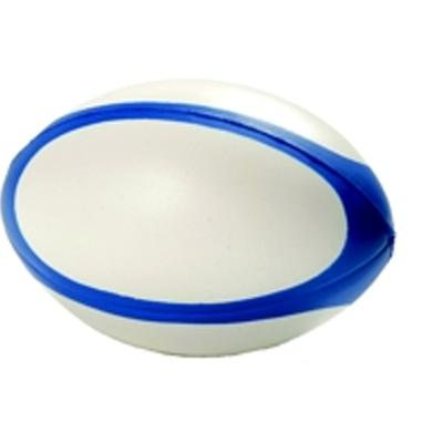 Picture of Stress Rugby Ball - Blue