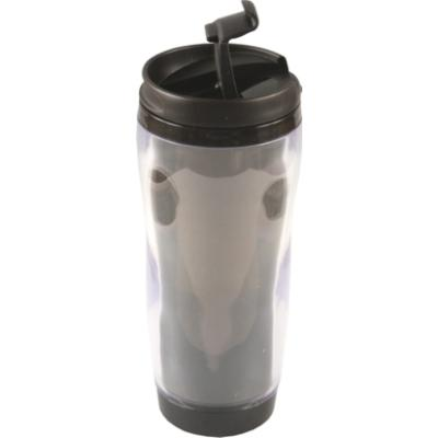 Picture of Clearview Plastic Travel Mug - full colo