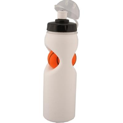 Picture of Sporty Basketball Drink Bottle. Black &