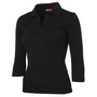 JBs Ladies 3/4 Sleeve Polo