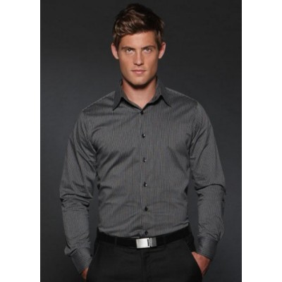Picture of Semi Fit Long Sleeve Business Shirt