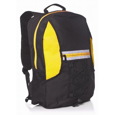 Picture of Spectrum Bungee Backpack Black/Gold