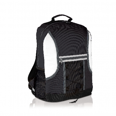 Picture of Spectrum Bungee Backpack Black/White