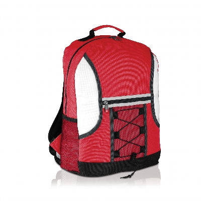Picture of Spectrum Bungee Backpack Red/White