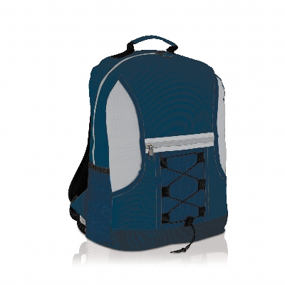 Picture of Spectrum Bungee Backpack Navy/Grey