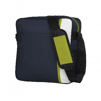 Picture of Spectrum Cooler Satchel Navy/White/Lime