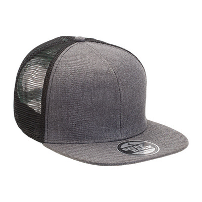 Picture of Heathered Flat Peak Trucker