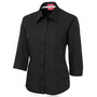 JBs Ladies Contrast Placket 3/4 Shirt