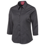 JBs Ladies Urban 3/4 Poplin Shirt