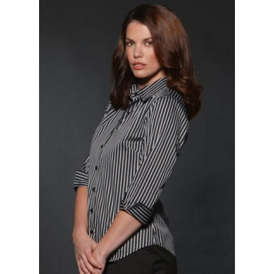 Picture of Semi Fit Bold Stripe Business Shirt