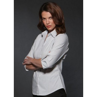Picture of Argento - Semi Fit 3/4 Sleeve Business Shirt